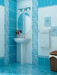 Керамическая плитка не боится воды