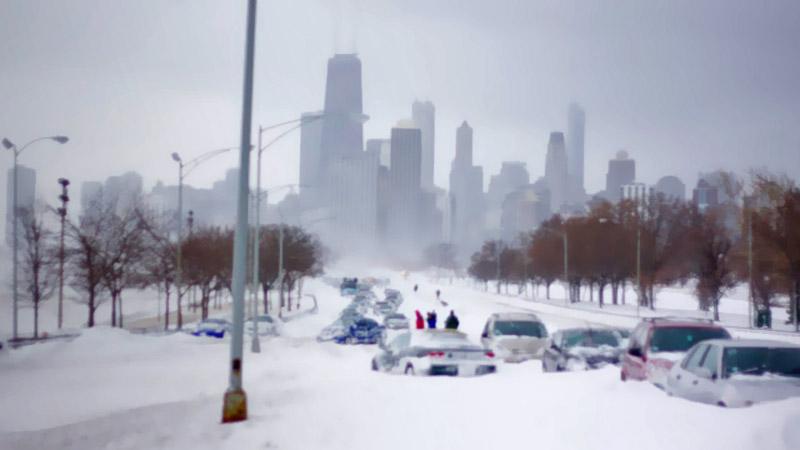 аварийные огни снежного покалипсиса