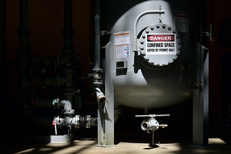 Резервуары для очистки воды
